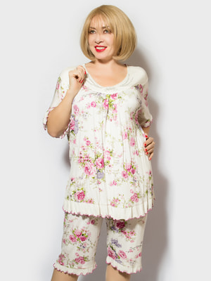 Пижама: футболка и шорты | 4706877