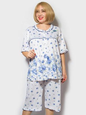 Піжама: футболка і шорти | 4717993