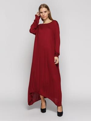 Платье бордовое | 4708674