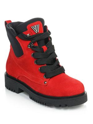 Ботинки красные   4716261