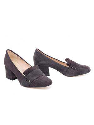 Туфли темно-серые | 4718794