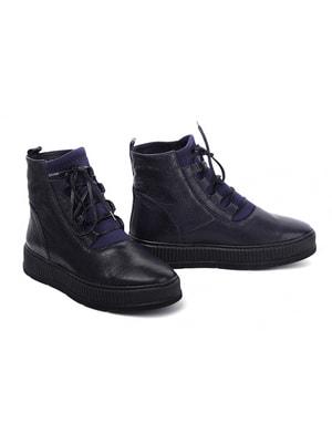 Ботинки темно-синие | 4718796