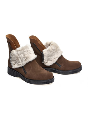 Ботинки коричневые   4718799