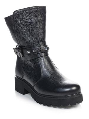 Ботинки черные   4714639