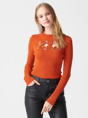 Джемпер помаранчевий | 4718329