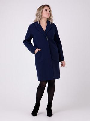 Пальто темно-синее | 4717955