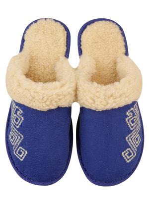 Тапочки сині | 4721325