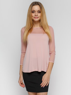 Блуза розовая | 3801820