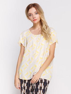 Блуза в принт | 4560093