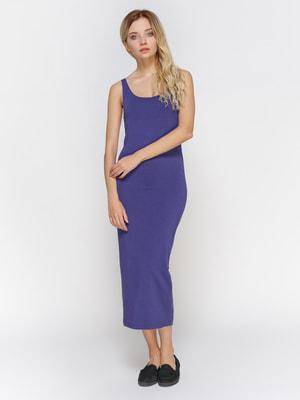 Платье сиреневое | 3794146