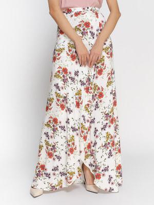 Спідниця в квітковий принт | 3794110