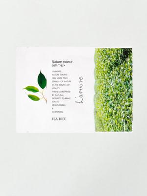 Маска тканинна із зеленим чаєм Nature Source Cell Mask Tea Tree (25 мл) | 4721256
