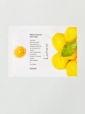 Маска тканинна з лимоном L'arvore Nature Source Cell Mask Lemon (25 мл) | 4721259
