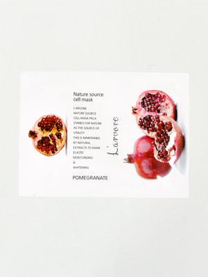 Маска тканинна з гранатом Nature Source Cell Mask Pomegranate (25 мл) | 4721258