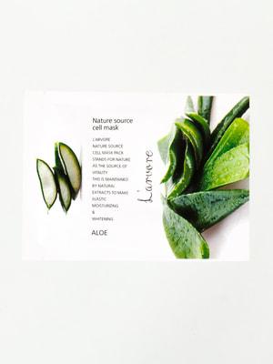 Маска тканинна з алое Nature Source Cell Mask Aloe (25 мл) | 4721257
