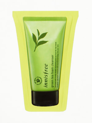 Пінка для обличчя Green Tea Foam Cleanser (3 мл) — пробник | 4712282