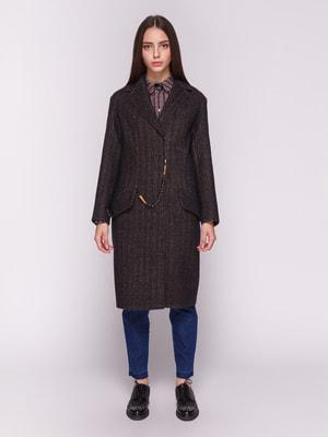 Пальто синьо-коричневе   4692726