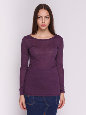 Лонгслив фиолетовый | 4611881