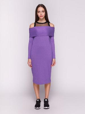 Платье сиреневое | 4714949