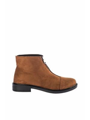 Ботинки табачного цвета | 4722265