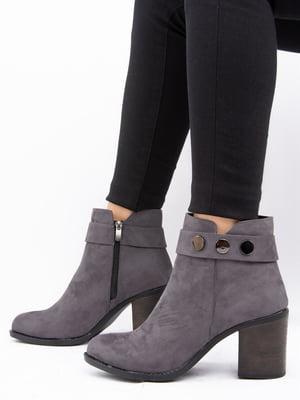Ботинки серые | 4722486