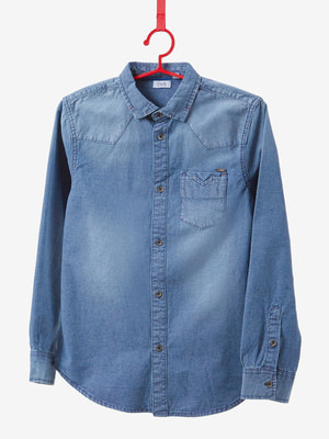 Сорочка синя | 4603775