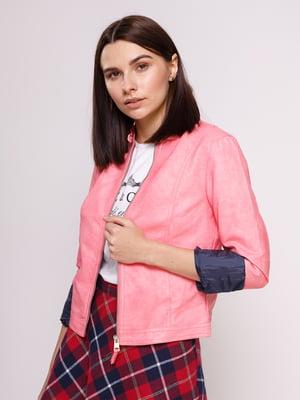 Куртка рожева | 3196147