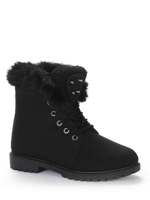 Ботинки черные   4719384