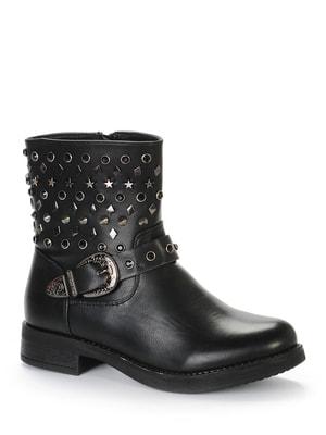 Ботинки черные | 4719387