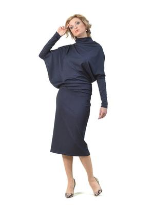 Платье темно-синее | 4723896