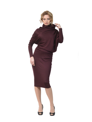 Сукня бордова | 4723899