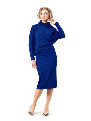 Платье цвета электрик | 4723906
