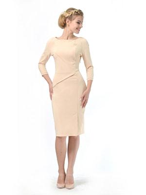 Сукня пісочного кольору | 4683899