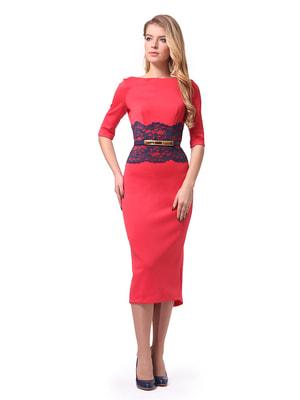 Сукня коралова | 4724087