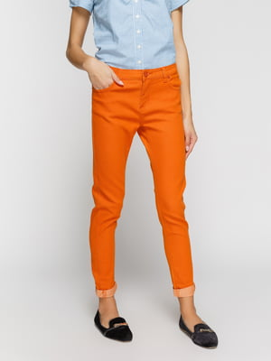 Джинсы оранжевые | 3196115
