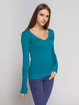 Пуловер бірюзовий   3202048