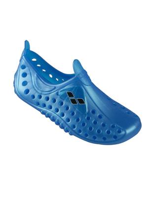 Тапочки для басейну сині | 4651281