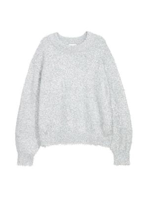 Джемпер сріблястий | 4701713