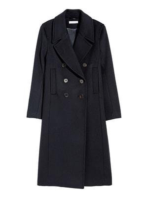 Пальто темно-синее | 4726081