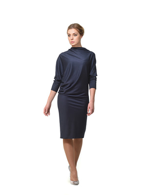 Платье темно-синее | 4723909