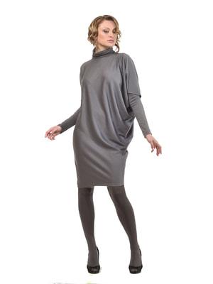 Платье-туника графитового цвета | 4723961