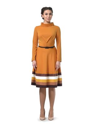 Сукня гірчичного кольору | 4723976