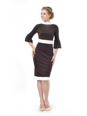 Платье коричневое | 4724005