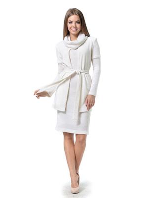 Комплект: платье, кардиган и воротник-хомут | 4724154