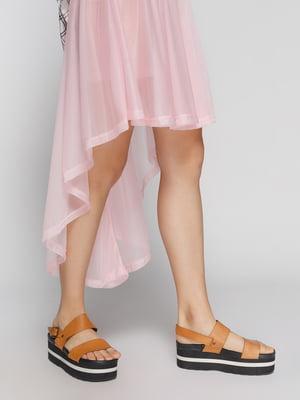 Юбка розовая | 4627036