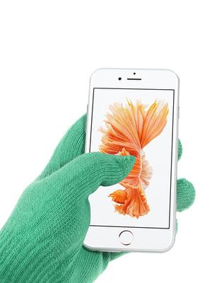 Рукавички для iРhone iGloves зелені | 3934167