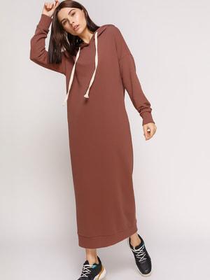 Сукня коричнева | 4721308