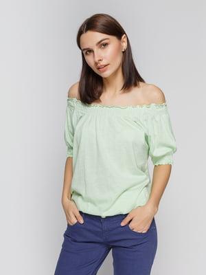 Блуза светло-зеленая   2324388