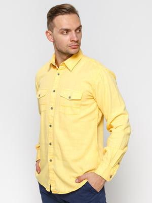 Рубашка желтая | 1899620