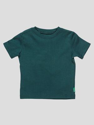 Футболка темно-зелена   3445276